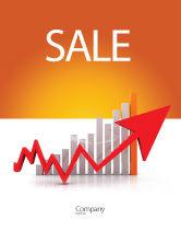 Business Concepts: Raising Rates Sale Poster Template #03571