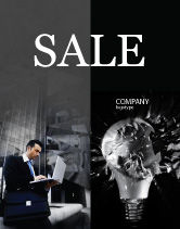 Business Concepts: Insight Sale Poster Template #03572