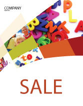 Education & Training: Word Play Sale Poster Template #03592