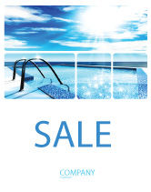 Careers/Industry: Swimming Pool Sale Poster Template #03599