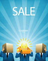 Business: Brainstorming Session Sale Poster Template #03611