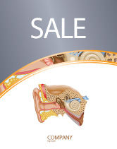 Medical: Auricle Sale Poster Template #03631