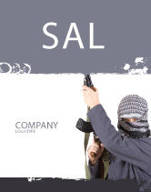 Military: Terrorist Sale Poster Template #03632