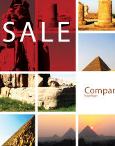 Careers/Industry: Traveling Sale Poster Template #03640