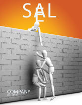 Business Concepts: Helping To Escape Sale Poster Template #03647