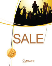 Careers/Industry: Ensemble Sale Poster Template #03657
