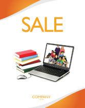 Education & Training: 电脑学习海报模板 #03659