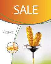 Careers/Industry: Corn Oil Sale Poster Template #03664