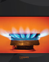 Careers/Industry: Gas Stove Sale Poster Template #03675
