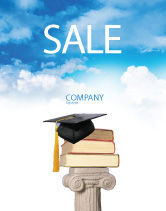 Education & Training: University Education Sale Poster Template #03680