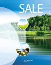Nature & Environment: Landscape Sale Poster Template #03688