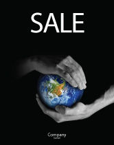Global: Protect the World Sale Poster Template #03695