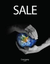 Global: Bescherm De Wereld Poster Template #03695
