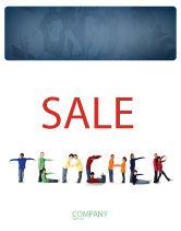 Education & Training: Teacher of Class Sale Poster Template #03723