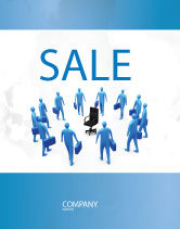 Business: Leader Seat Sale Poster Template #03726