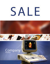 Medical: Ultrasound Sale Poster Template #03741