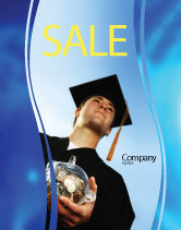 People: Paid Education Sale Poster Template #03753