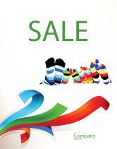 General: Rainbow Sokken Poster Template #03760