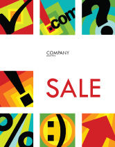 Abstract/Textures: Type Sale Poster Template #03768