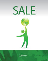 Nature & Environment: Eco-World Sale Poster Template #03820