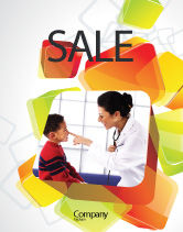 Medical: Paediatrist Sale Poster Template #03835