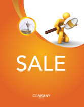3D: Particulars Sale Poster Template #03847