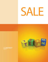 Business Concepts: Team Sale Poster Template #03855