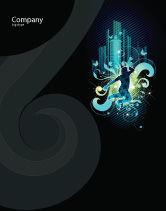 Art & Entertainment: 夜城的生活海报模板 #03856