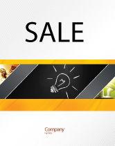 Business Concepts: Brilliant Idea Sale Poster Template #03860