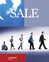 Business Concepts: Education and Development Sale Poster Template #03880
