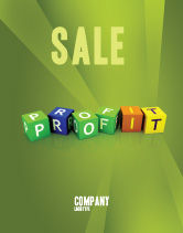 Financial/Accounting: Inkomen Poster Template #03884
