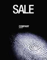 People: Modello Poster - Impronta digitale #03890