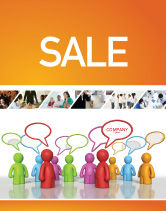 Consulting: Talk Sale Poster Template #03925