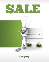 Consulting: Idea Board Sale Poster Template #03970