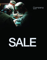 Medical: Major Surgery Sale Poster Template #03979