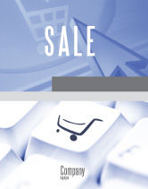 Careers/Industry: Shopping Cart Sale Poster Template #03998