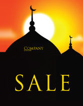 Religious/Spiritual: Mosques Sale Poster Template #04019