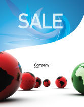 Global: Another World Sale Poster Template #04074