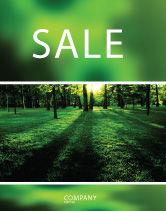 Nature & Environment: 树木海报模板 #04082
