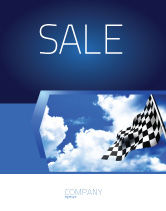 Flags/International: Homestretch Sale Poster Template #04142
