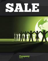 Global: Wereld Eenheid Poster Template #04151