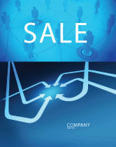 Business Concepts: Arrow Point Sale Poster Template #04157