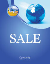 Global: World Reconstruction Sale Poster Template #04171