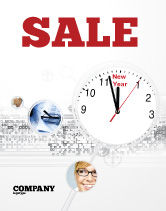Holiday/Special Occasion: 2009 Almost Here Sale Poster Template #04177