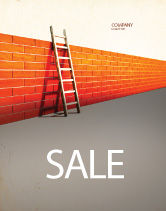 Consulting: Obstacle Sale Poster Template #04189