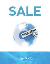 Telecommunication: Site Address Sale Poster Template #04201