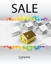 Careers/Industry: Private Woning Poster Template #04214