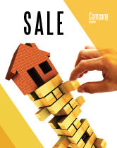 Consulting: Building Sale Poster Template #04217