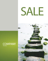 Education & Training: Path Sale Poster Template #04228