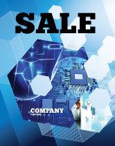 Technology, Science & Computers: Modèle d'Affiche de développement de matériel #04249